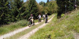 Balade en VTTAE à La Bresse